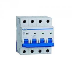 chint interruttore magnetotermico 4p 25a 6ka nb1-63 51409