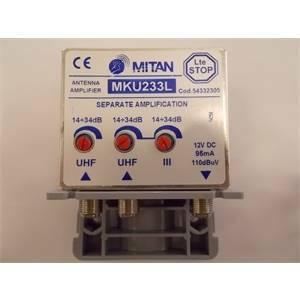 mitan amplificatore vhf(-fm)-uhf/uhf 34db 3r m54332305