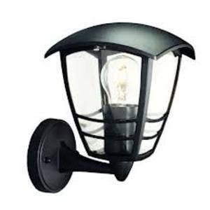 philips consumer lanterna creek colore nero 60w per esterno philips 153803010 15380/30/16 153803016