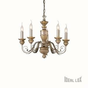 ideal lux sospensione dora sp5 colore oro 40w attacco e14 20822