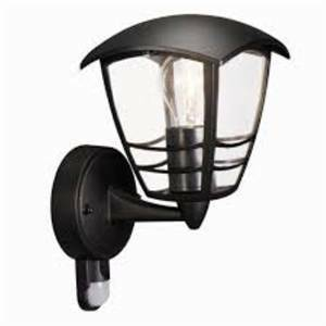 massive philips lanterna creek colore nero 1x60w 153883010 15388/30/16 153883016