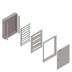 siemens porta trasparente ad incasso alpha 125 universal 8gk95077kk20