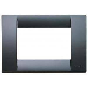 vimar placca 3 posti serie idea colore grigio grafite 16743.15