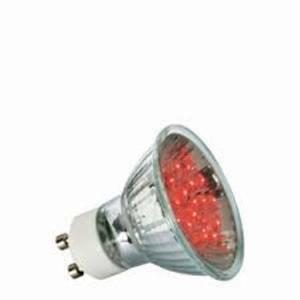 paulmann lampadina led 1w attacco gu10 colore rosso 280.07