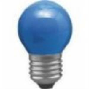 paulmann lampadina incandescente a sfera 25w attacco e27 blu 401.34