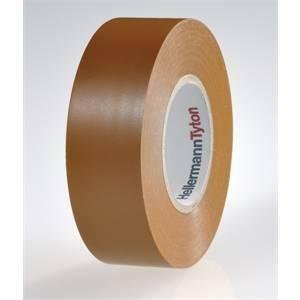 hellermann tyton helatape flex 15-25x25-nastro colore marrone 710-00140