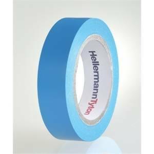 hellermann tyton helatape flex 15 - nastro isolante in pvc multiuso colore blu 710-00100