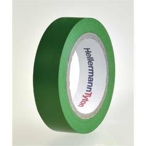 hellermann tyton helatape flex 15 - nastro isolante in pvc multiuso colore verde 710-00103