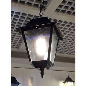 liberty lamp sospensione athena grande colore nero goffrato 75w attacco e27 4013/nn