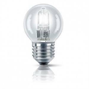 philips lampadina alogena ecoclassic 18w attacco e27 luce calda ecsfe18cl
