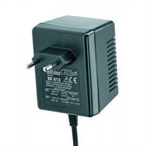 alpha elettronica carica batteria 13,8vdc 600 ma be81222