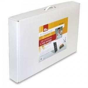 alpha elettronica kit fotovoltaico stand alone 25w 12v senza batteria kit25-sb