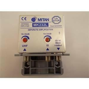 mitan amplificatore serie pro 3/uhf mk232l 34r m54332303