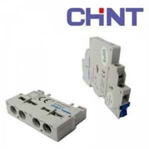 chint contattore ns8-au11 aux 1no+1nc 6a 200153