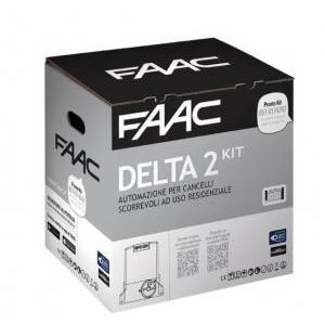 faac delta 2 kit 230v safe zone per cancelli scorrevoli 500kg 1056303445