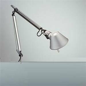 artemide lampada tolomeo micro solo corpo lampada 60w e14 alluminio a010900