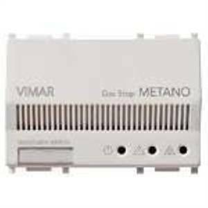 vimar vimar plana rivelatore di gas metano colore bianco 14420