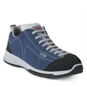ftg safety shoes scarpa bassa modello carving scamosciata colore blu numero 40 carving-40 s1p src