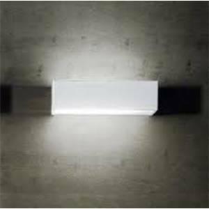 linea light applique box colore bianco 1x2g11 18w 6723