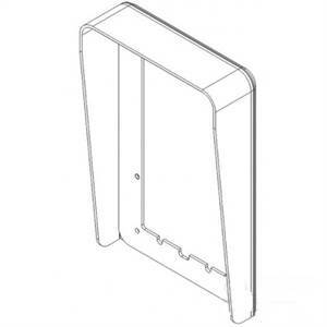 urmet visiera antipioggia 1 fila 2 moduli verticale 1158/612