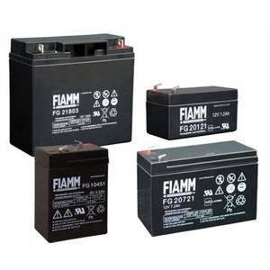 melchioni batteria piombo fiamm 6v 12ah 491460368