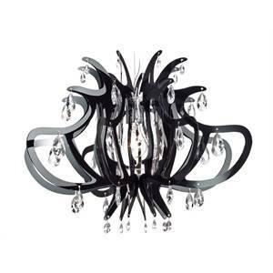 slamp slamp lampadario a sospensione lillibet black lil14sos0000nt