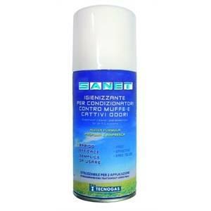 tecnogas bombola sanificante spray da 150ml profumazione fresh 11618