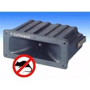 elettroservice scacciatopi ad ultrasuoni 125db copertura 300mq st2plus