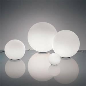 artemide artemide lampada da tavolo dioscuri diametro 14cm 1034010a