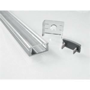nobile illuminazione profilo per striscia 2 metri opale barra/strip/3e/s
