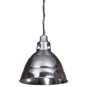 slv italia sospensione para 380 riflettore colore alluminio naturale e nero 165358