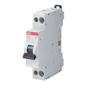 abb interruttore magnetotermico 1p+n 16a 6ka sn201 c16 2css255101r0164 sn201c16