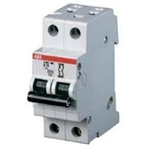 abb interruttore magnetotermico 2p 25a 6ka s202-c25 2cds252001r0254 s466202
