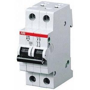 abb interruttore magnetotermico 2p 32a 6ka s 202-c32 2cds252001r0324 s466202