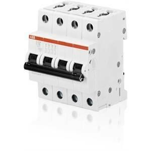 abb interruttore magnetotermico 4p 16a 6ka s 204-c16 2cds254001r0164 s529211
