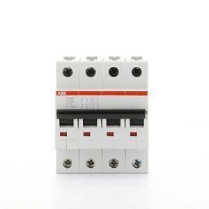 abb interruttore magnetotermico 4p 25a 6ka s 204-c25 2cds254001r0254 s529235