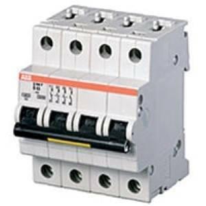 abb interruttore magnetotermico 4p 40a 6ka s 204-c40 2csd254001r0404 s529259