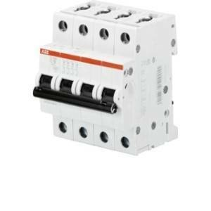 abb interruttore magnetotermico 4p 50a 10ka s 204 m-c50 2cds274001r0504 s544030