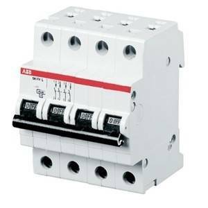 abb interruttore magnetotermico 4p 63a s 204 m-c63 2cds274001r0634 s544047