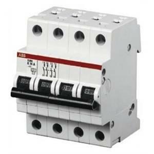 abb interruttore magnetotermico 4p 63a 6ka s 204-c63 2cds254001r0634