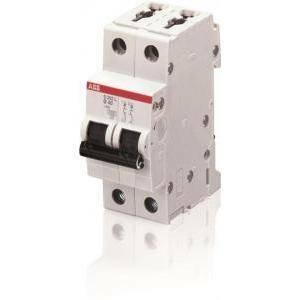 abb interruttore magnetotermico 2p 16a 4,5ka s 202 l-c16 2cds242701r0164 s598484