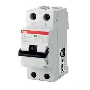 abb interruttore magnetotermico differenziale 1p+n 16a 6ka 30ma ds201 c16 ac30 2csr255040r1164 ds1c16ac30