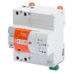 gewiss interruttore differenziale puro 2 poli con autotest e restart riarmo automatico gw90901n