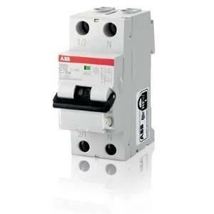 abb interruttore magnetotermico differenziale 1p+n 10a 10ka 30ma ds201 m c10 ac30 2csr275040r1104 ds1mc10ac30