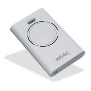 faac telecomando quattro canali xt4 433 slh lr colore bianco 787008