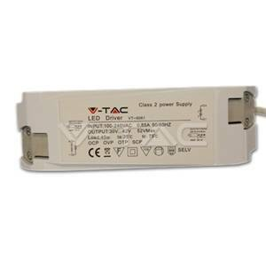 v-tac driver 45w per led panel non dimmerabile 6004