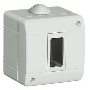 bticino contenitore 1 modulo ip40 da parete 25401