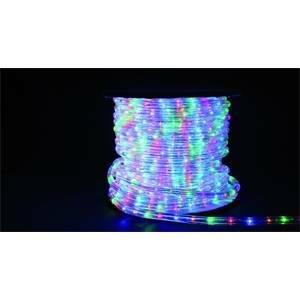 giocoplast tubo led 2 fili multicolore luce fissa al metro 15308740/1mt
