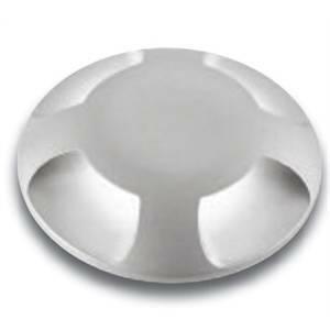 nobile illuminazione nobile illuminazione incasso led tondo calpestabile alluminio 3w luce calda 211/3k