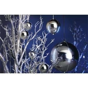 giocoplast sfera natalizia snowfall viola 234 led diametro 300 07410708